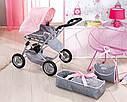 Игрушечная коляска для кукол Baby Born 3 в 1 Deluxe Pram Zapf Creation 821343, фото 9