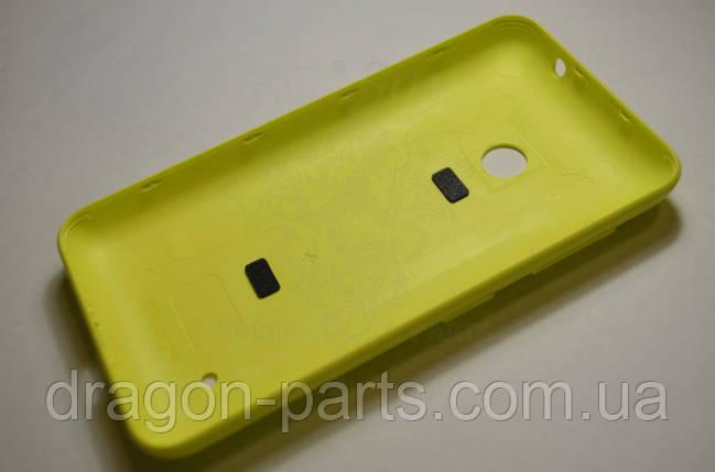 Задняя крышка  Nokia Lumia 530 желтая оригинал , 02507L3, фото 2