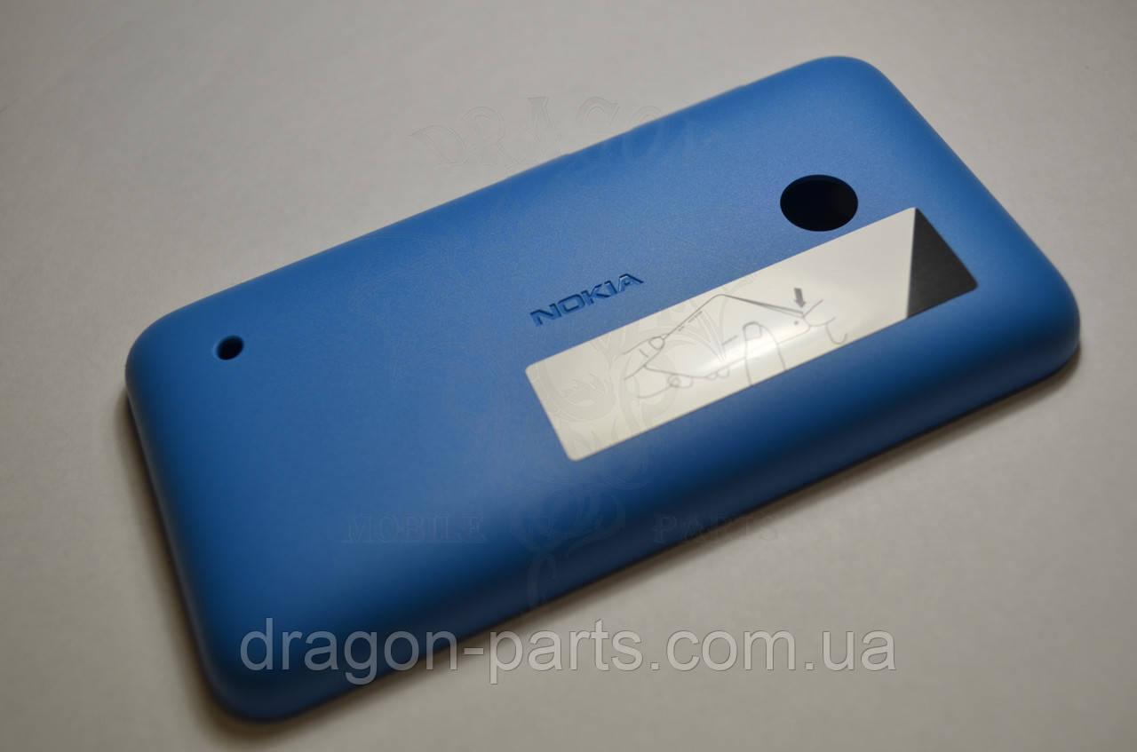 Задняя крышка  Nokia Lumia 530 синяя оригинал , 02507L5