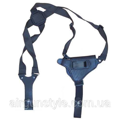 Кобура оперативна шкіряна ПМ Медан 1002 універсальна з синтетичним кріпленням (зі скобою)
