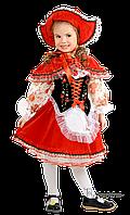 Детский карнавальный костюм КРАСНАЯ ШАПОЧКА код 675