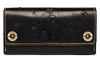 Женский кошелек кожаный