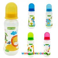 Бутылочка с силиконовой соской 250 мл Baby Team 1121