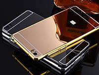 Чехол бампер для Xiaomi Mi5 зеркальный