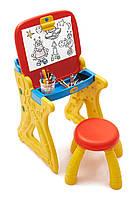 Crayola Парта со стульчиком и настольным мольбертом  Fold And Go Art Studio