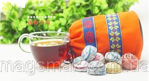 Чай шу- и шен- ПУЭР, миниточи в мешочке, 50шт*4,5 г, фото 2