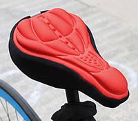 Силиконовая накладка / чехол на седло велосипеда Универсальное, Китай