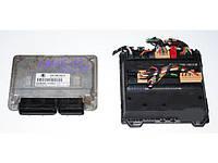 Блок управления двигателем комплект 1.2 12Vsk Skoda Fabia 1999-2007