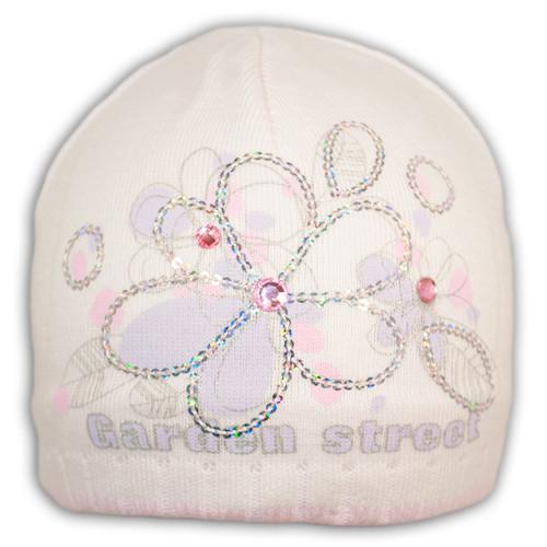 Вязанная шапка для девочки Barbaras