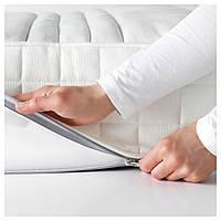 IKEA МАТРАНД Матрас из латекса, средней жесткости, белый : 10272175, 102.721.75