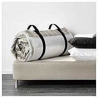 IKEA ХАФСЛО Пружинный матрас, жесткий, бежевый : 60244463, 602.444.63
