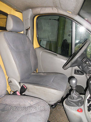 Сиденье водителя на Renault Trafic, Opel Vivaro, Nissan Primastar