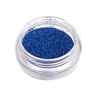 Синий голографический глиттер для ногтей №10