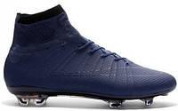 Футбольные бутсы Nike Mercurial Superfly 2016 (найк) синие