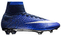 Футбольные бутсы Nike Mercurial Superfly CR7 (найк криштиану роналду) синие