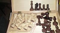 Шахматы гроссмейстерские деревянные фигуры 5,5-10,5см 42х42см
