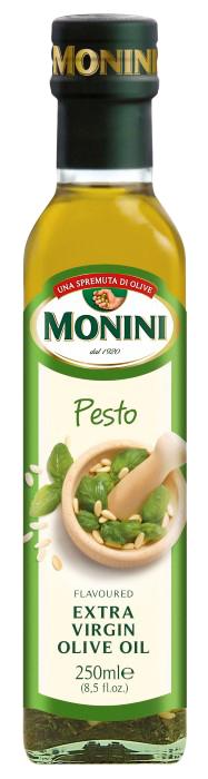 Оливковое масло Monini Pesto (с песто) extra vergine, 250 мл.