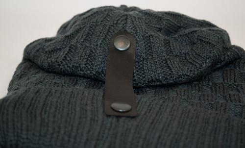 Защип на шапке