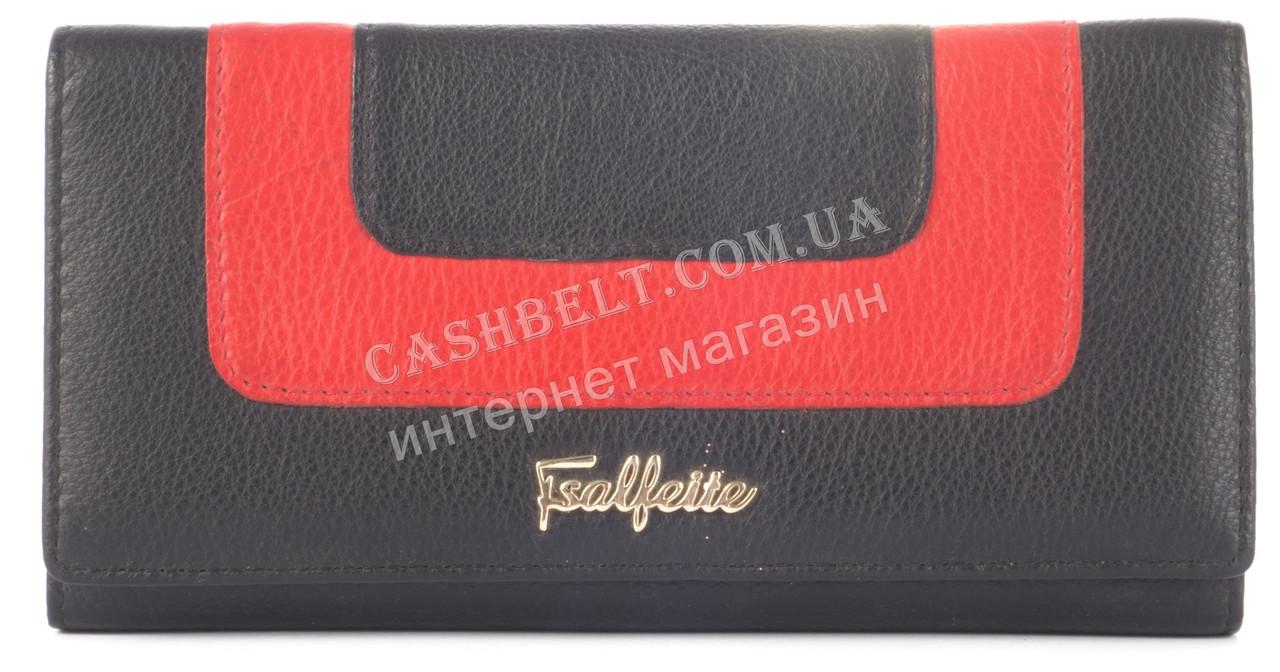 Элегантный женский кошелек SALFEITE art. 51029 черный