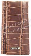 Стильная прочная компактная надежная кожаная ключница SALFEITE art. 2232BT-E83 коричневый, фото 1