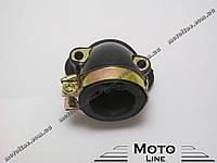 Впускной коллектор (патрубок карбюратора) на скутер 4т GY6 KBF 125-150cc GXmotor