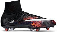 Футбольные бутсы Nike Mercurial Superfly CR7 (найк криштиану роналду) черные