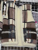Тепла жилетка з овечої вовни - клітина