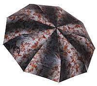 Стильный женский зонт автомат 056 orange