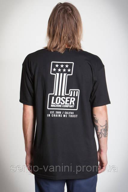 Футболка с принтом Loser Machine We Trust мужская