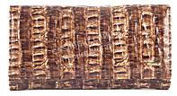 Вместительный оригинальный кожаный лаковый женский кошелек коричневго цвета H.Verde art.2470-F13, фото 1
