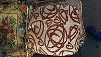 Мягкая подушка на табурет с резинкой абстракцыя