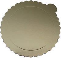 Подложка под торт диаметр 160 мм золото (1уп =20 шт) Empire 0225
