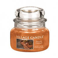"""Ароматическая свеча в стекле Village Candle """"Осенний уют"""". 315 гр/ 55 часов"""