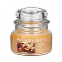 """Ароматическая свеча в стекле Village Candle """"Яблочный пирог"""". 315 гр/ 55 часов"""