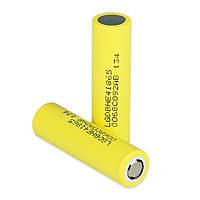 Li-ion акумулятор 18650 LG HE4 2500mAh 20A (30A)