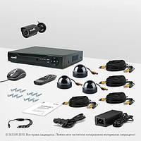 Система видеонаблюдения «установи сам» Страж Контрол 4М+ (УЛ-700К-1.КУ-420Ш-3)