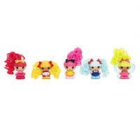 "Набор с куклами 534280 КРОШКАМИ LALALOOPSY серии ""Кудряшки-симпатяшки"" - ВЕСЕЛЫЕ ПОДРУЖКИ (5 кукол)"