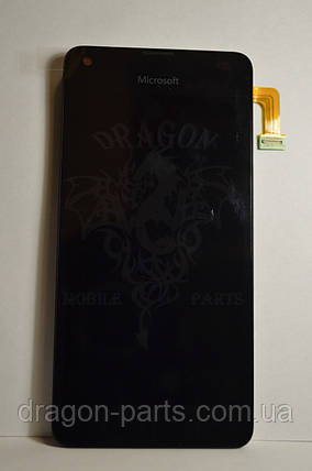 Дисплей Microsoft Lumia 550 с сенсором (модуль) оригинал , 00814D6, фото 2