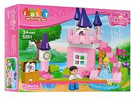 Конструктор детский 80 деталей Замок принцессы JDLT 5251