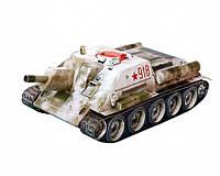 Картонная модель Самоходная артиллерийская установка СУ-122 (1943 г.) 256 УмБум