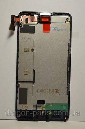 Дисплей Nokia Lumia 630 с сенсором (модуль) оригинал , 00812Q0, фото 2