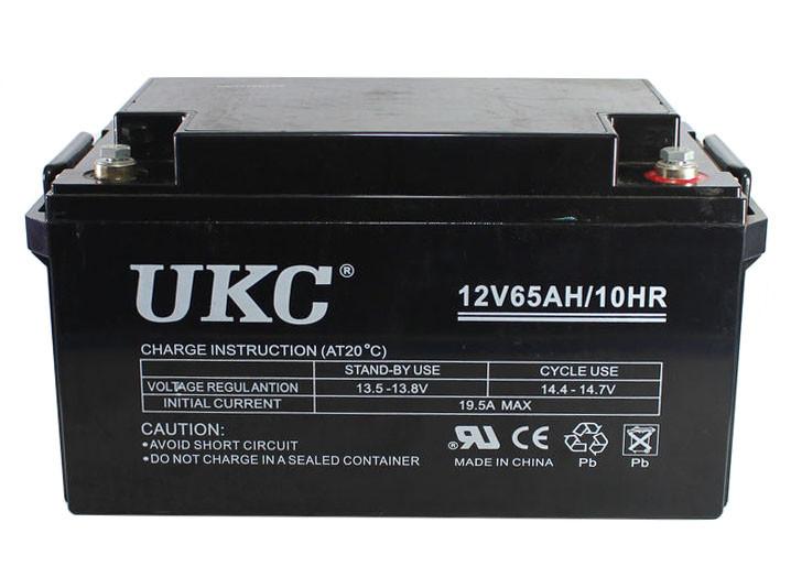 Гелієвий акумулятор UKC Battery Gel 12V 65A CK