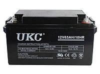 Гелиевый аккумулятор UKC Battery Gel 12V 65A CK