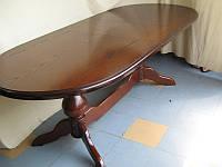Стол обеденный дуб Орион 120(+40)х70х75 (светлый, темный орех)