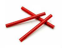Трубочки на спицы, отражатели, красные