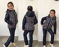 """Куртка детская для девочек в расцветках """"Минни"""" (мм-644)"""