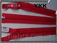 Молния спираль YKK 80cm 003 коралл-малина 1бегунок разьемная