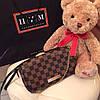 Клатч Louis Vuitton Favorite коричневая шахматка, кожа, фото 4