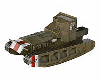 Картонная модель Танк Mk A Whippet (1917-1918 г.)  252-01 УмБум