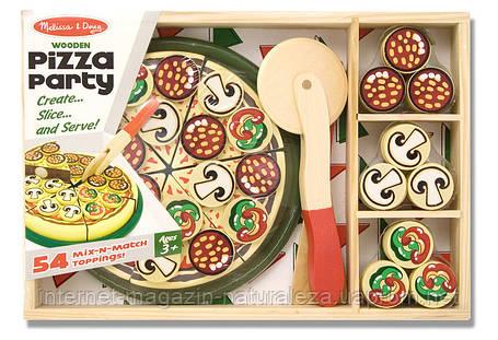 Деревянный набор Пицца Melissa&Doug, фото 2
